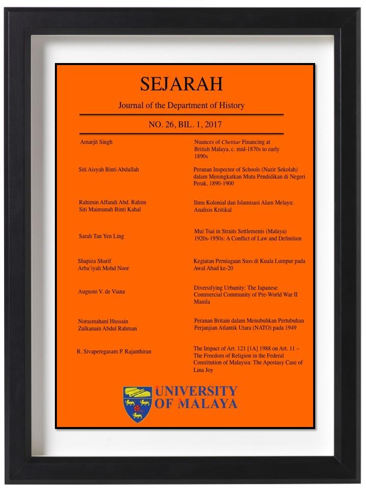 Peranan Pasukan Cawangan Khas Polis Diraja Malaysia Pdrm Dalam Menangani Ancaman Komunis 1968 1989 Sejarah Journal Of The Department Of History