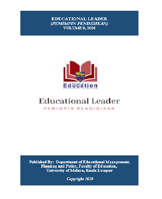 Principals Leadership Characteristics An Indispensable Tool For Teachers Effectiveness In Southwestern Nigeria Secondary Schools Educational Leader Pemimpin Pendidikan