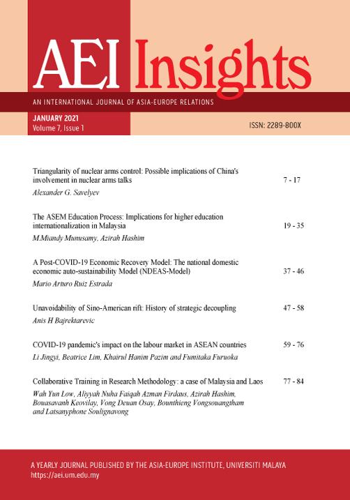 View Vol. 7 No. 1 (2021): AEI INSIGHTS