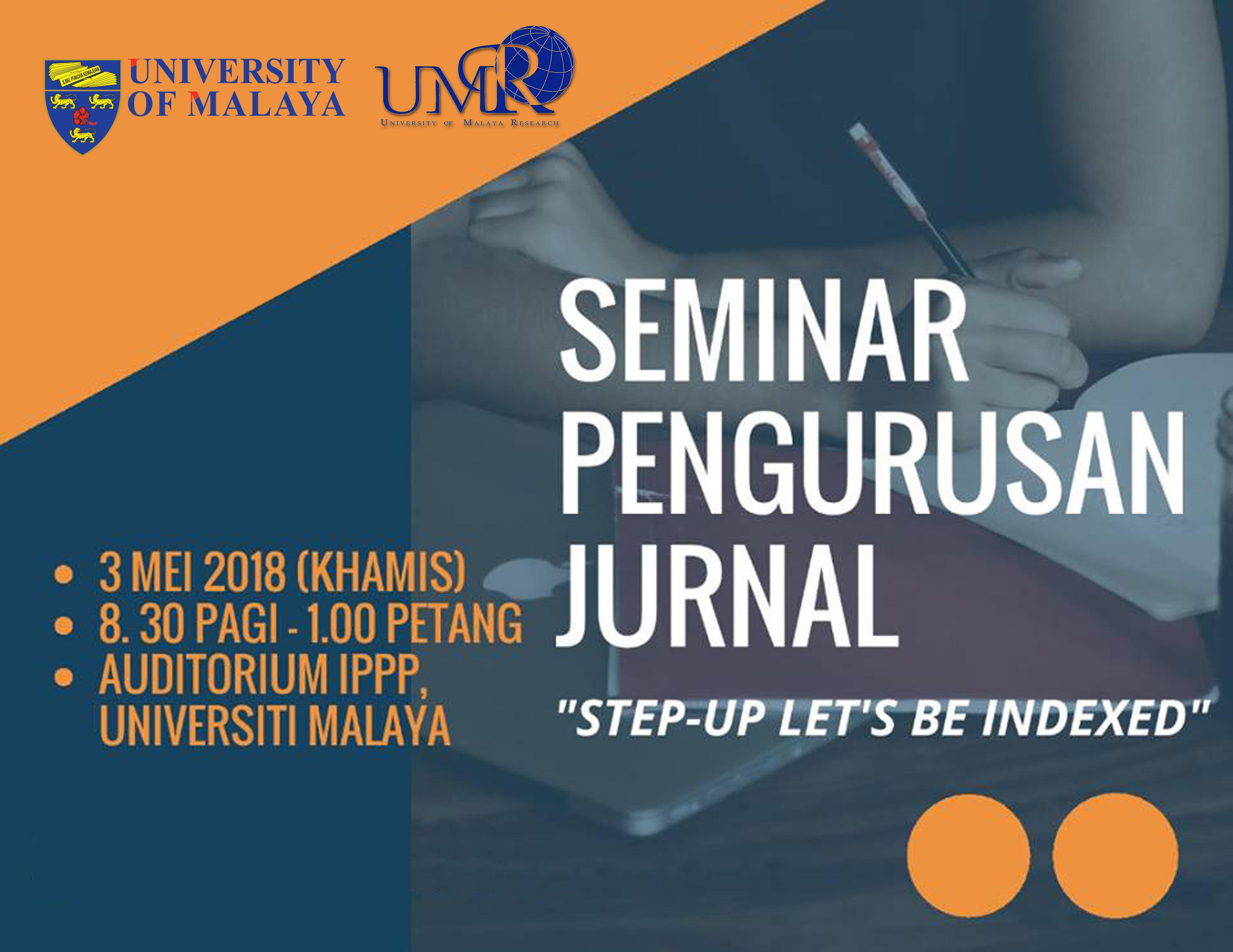 View Seminar Pengurusan Jurnal